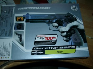 good old Thrustmaster Beretta Gun