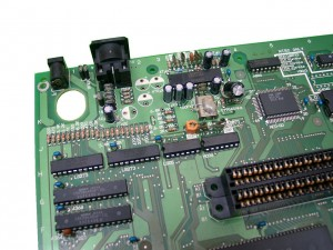 removed capacitors and resistors