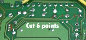 cuting rgb signal