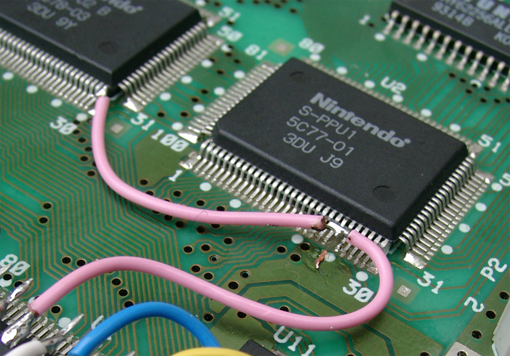 Super Nintendo. Modificación CIC y 50/60 Hz sin interruptores. Supercic_8