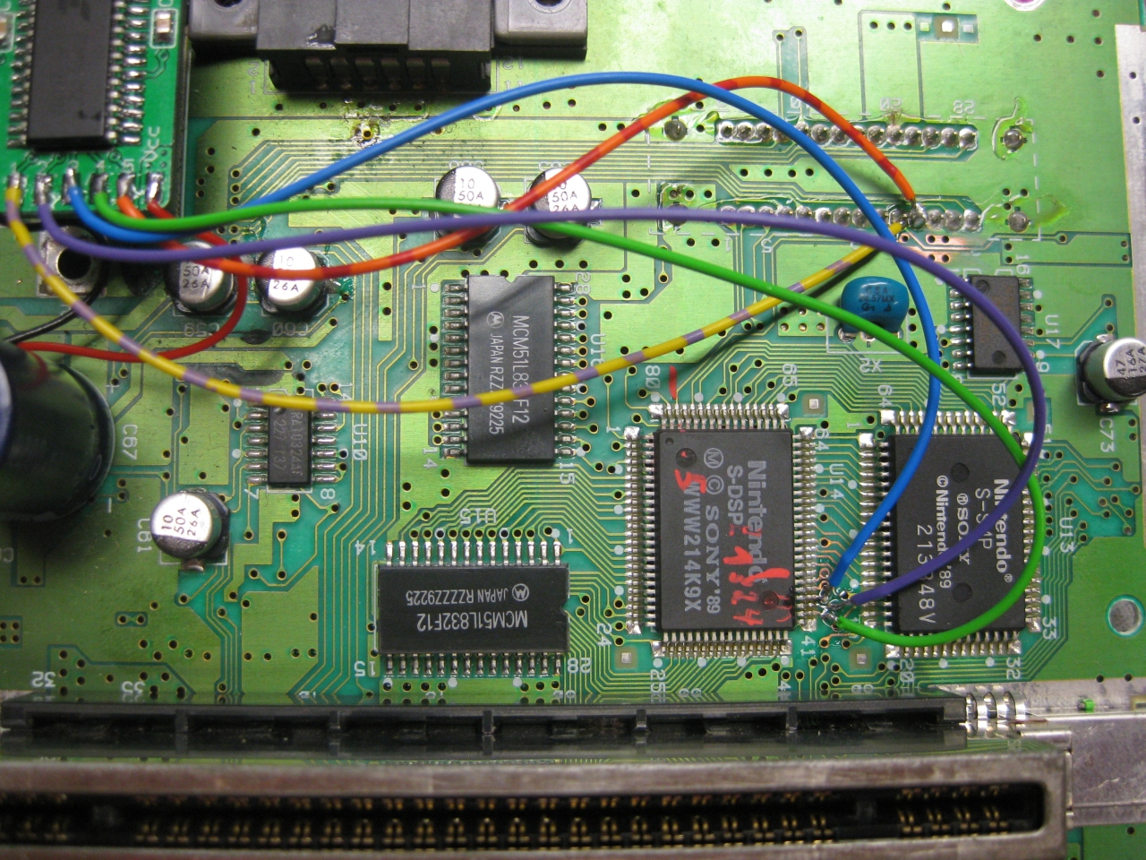 Digital Audio Out @ 2 Chip SNES with S-DSP « Wolfsoft PINbrawl Project